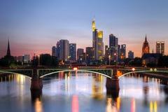 frankfurt Германия Стоковая Фотография RF