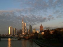 Frankfurt. Skyline royalty free stock image