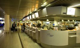 Frankfurt  Airport - check-in Stock Image