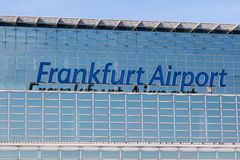 Frankfurt Airport Royalty Free Stock Images