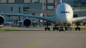 Frankfurt airport traffic stock video footage