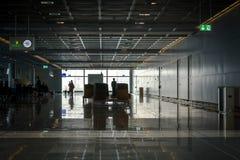 Frankfurt airport - waiting hall Royalty Free Stock Photos