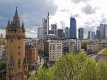 Frankfurt architektura Obrazy Royalty Free