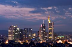 Frankfurt-Block Lizenzfreie Stockfotos