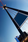 Frankfurt Bridge Royalty Free Stock Photography