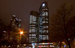 Frankfurt, Business Buildings Royalty Free Stock Images