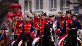 Frankfurt Carnaval 2009 Stock Fotografie