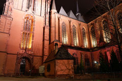 Frankfurt Cathedral Royalty Free Stock Photography