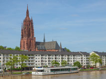 Frankfurt Cathedral Royalty Free Stock Images
