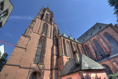 Frankfurt Cathedral Royalty Free Stock Photo