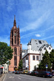 Frankfurt Cathedral Dom Royalty Free Stock Photo