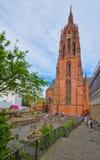 Frankfurt Cathedral in Frankfurt in Germany Royalty Free Stock Photo