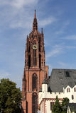 Frankfurt Cathedral in Germany Stock Image