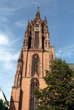 Frankfurt Cathedral in Germany Royalty Free Stock Images
