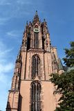 Frankfurt Cathedral in Germany Royalty Free Stock Photo