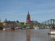 Frankfurt Cathedral Royalty Free Stock Photo