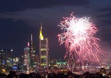Frankfurt Celebrations Stock Image