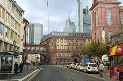 Frankfurt Center royalty free stock images