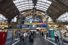 Frankfurt Central Station Royalty Free Stock Images