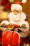 Frankfurt Christmas Market Santa Claus Royalty Free Stock Photos
