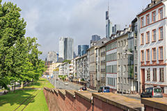 The Frankfurt City Stock Images