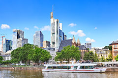 The Frankfurt City Stock Photos