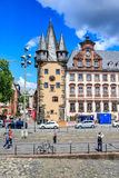 The Frankfurt City Royalty Free Stock Photos