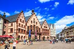 The Frankfurt City Royalty Free Stock Photo