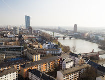 Frankfurt city Stock Image