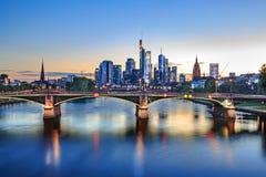 The Frankfurt City Royalty Free Stock Photography
