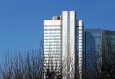 Frankfurt cityscape Stock Images