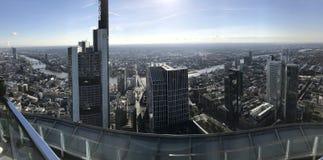 Frankfurt. Daylight Sonne sun Sonne hell bleue Blue sky royalty free stock images