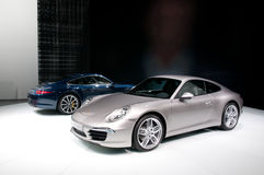 FRANKFURT, DEUTSCHLAND - 25. SEPTEMBER: Porsche 911 Carrera Stockbild