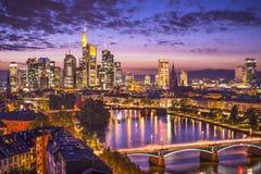 Frankfurt Deutschland lizenzfreie stockfotos