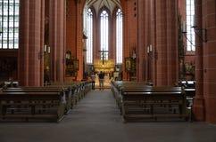 Frankfurt Dom Katedralni Obraz Stock