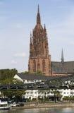 Frankfurt domkyrka royaltyfri foto