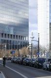 Frankfurt downtown Royalty Free Stock Image