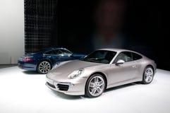 FRANKFURT, DUITSLAND - 25 SEP: Porsche 911 Carrera Stock Afbeelding