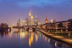 Frankfurt, Duitsland Stock Fotografie