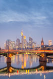Frankfurt, Duitsland Stock Foto's