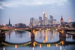 Frankfurt, Duitsland Royalty-vrije Stock Foto
