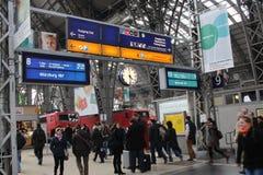 Frankfurt dworzec fotografia royalty free