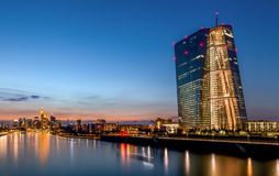 Frankfurt - European Central Bank ECB stock image