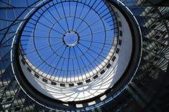 Frankfurt exponeringsglaskupol Fotografering för Bildbyråer