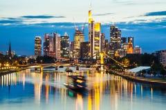 Frankfurt - f Arkivfoto