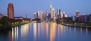 Frankfurt - f.m. - strömförsörjning. Royaltyfria Foton