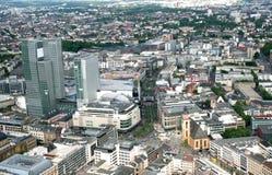 Frankfurt - f.m. - strömförsörjning Royaltyfri Fotografi