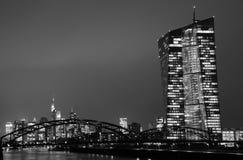 Frankfurt - f.m. - strömförsörjning Royaltyfri Bild