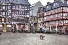 Frankfurt - f.m. - strömförsörjning center historiskt Royaltyfria Bilder