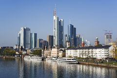 Frankfurt financial district Stock Image